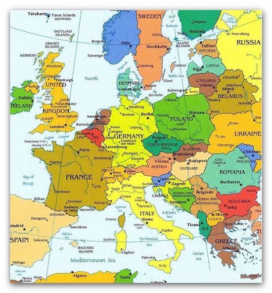 Страны и столицы en ru